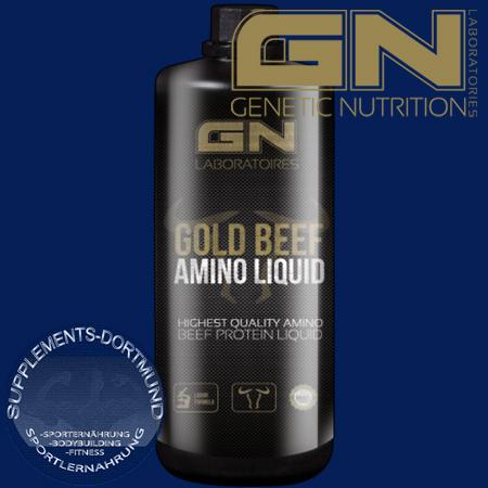 Gold Beef Amino Liquid 950ml Flasche