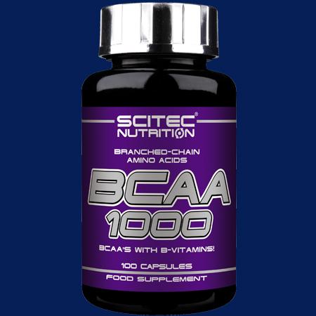 100 Aminosäurenkapseln von Scitec Nutrition