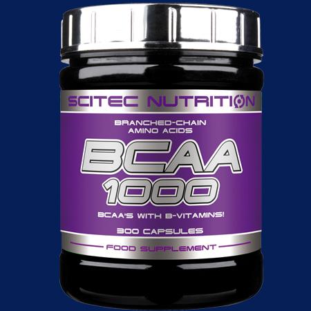 BCAA 1000 Aminosäurenkapseln von Scitec Nutrition